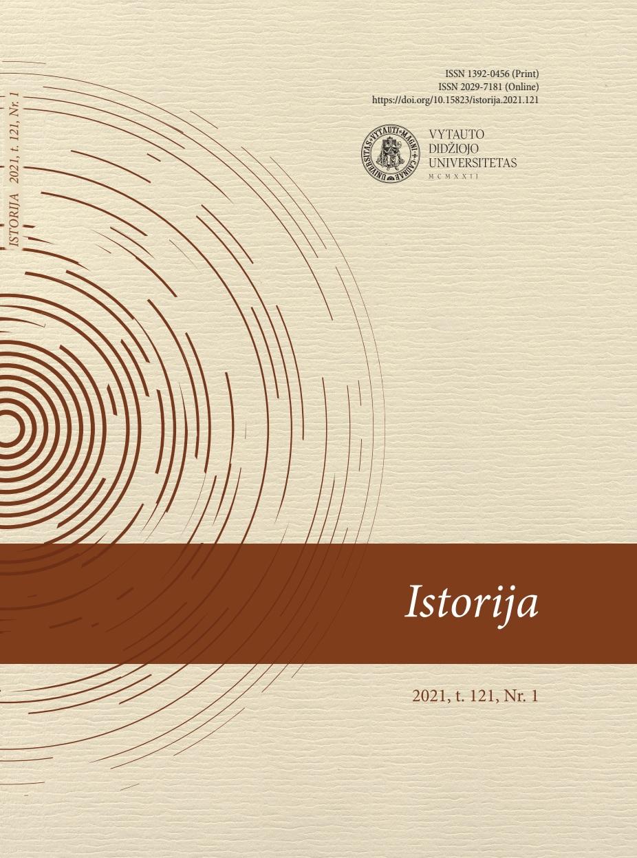 View Vol. 121 No. 1 (2021): History