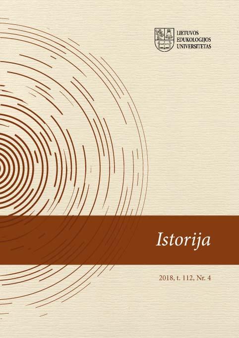 View Vol. 112 No. 4 (2018): History