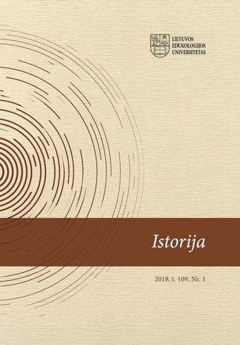 View Vol. 109 No. 1 (2018): History