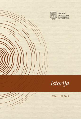 View Vol. 101 No. 1 (2016): History