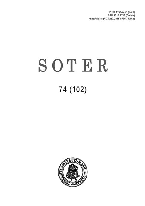 View No. 74 (102) (2020): Soter