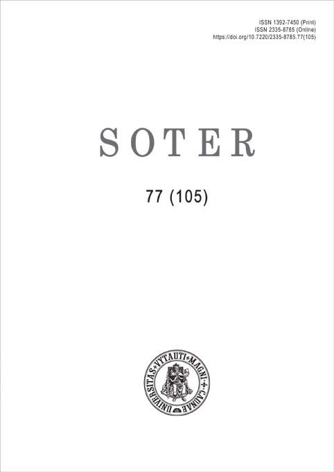 View No. 77 (105) (2021): Soter