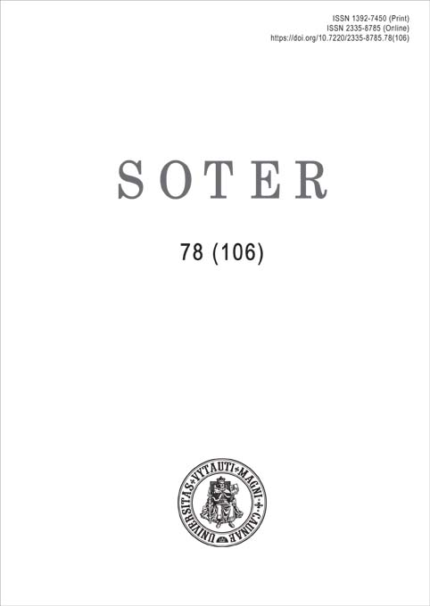 View No. 78 (106) (2021): Soter