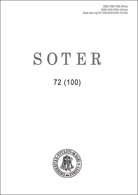 View No. 72 (100) (2019): Soter